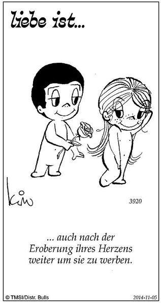 """Täglich veröffentlicht die Kleine Zeitung eine """"Liebe ist …""""-Zeichnung. Anlässlich des Valentinstags haben wir für Sie die zehn beliebtesten Suj…"""