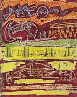 Henry Moore Textile Design: Strands of Colour