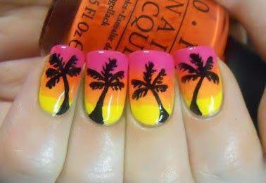 Diseño de uñas caribeñas