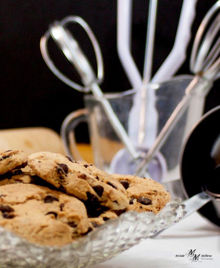 Kiwi Chocolate Chip Cookies