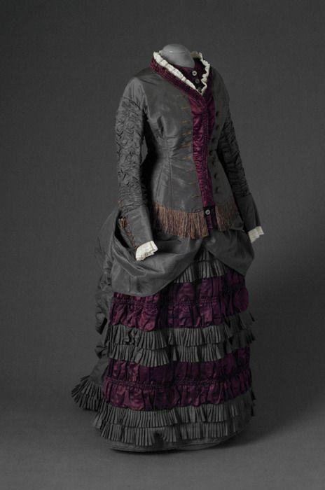 Dress, 1875-80, Mode Museum