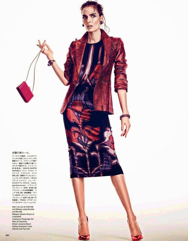 Zuzanna Bijoch by Andreas Sjödin for Vogue Japan June 2014 7