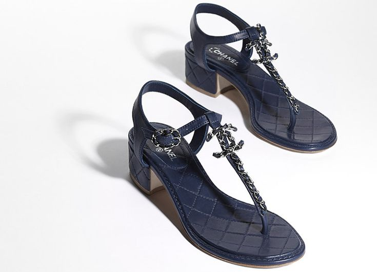 6b770fa1e Chanel Sandals For Cruise 2016 Collection