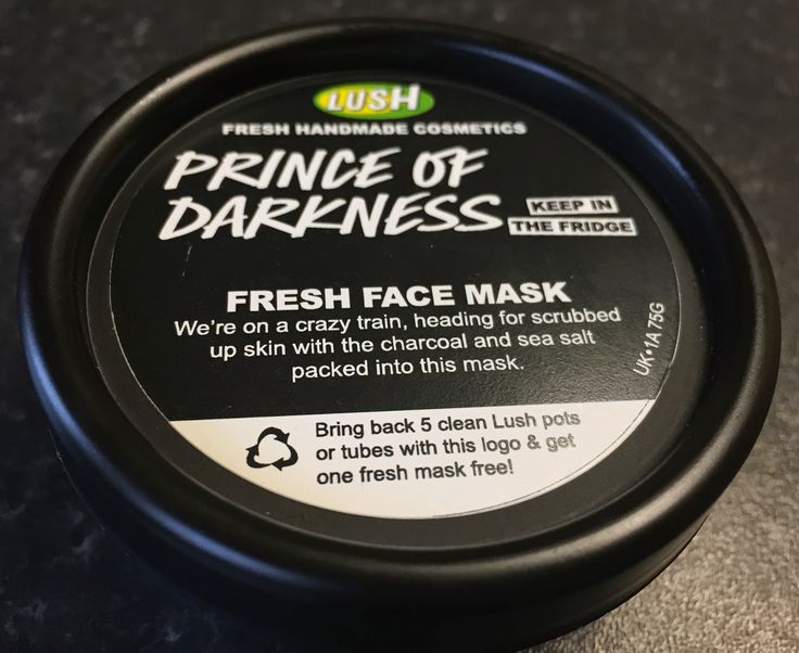 All Things Lush UK: Prince Of Darkness Fresh Face Mask