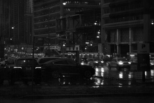 Racism Is Structural in Canada and Academia. #racismisstructuralincanada #blackandwhitephoto #toronto #torontophoto #torontolife #landscape #bw #crossroad #trafficlights #cars #night #nightlife #lights #lighting #rain #rainy #rainyday #storm #stormy #postmodernitysucks #surrealism #surrealist