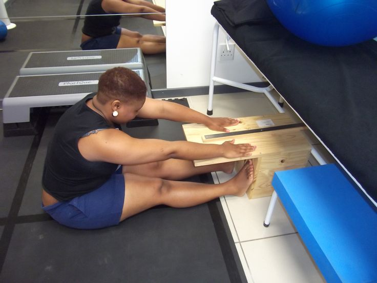 Fitness assessment- Sit and reach