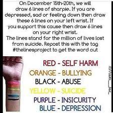 self harm awareness month