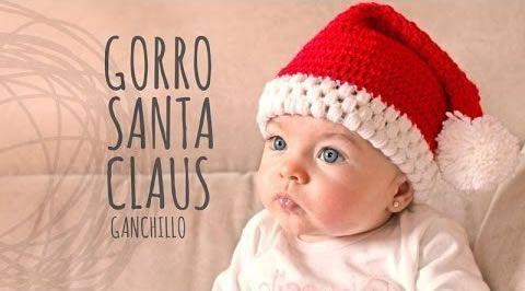 Tutorial Gorro Papá Noel Ganchillo o Crochet