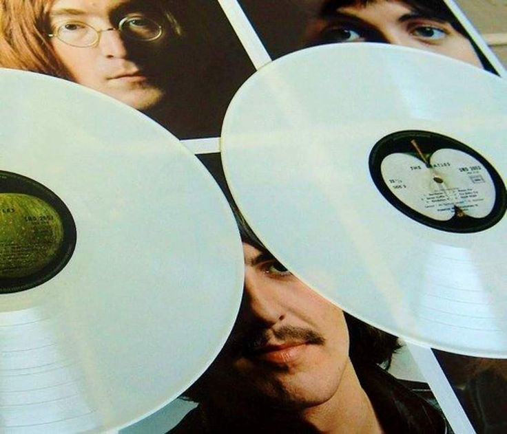 "Released November 22nd,1968 ""The Beatles White Album"" Is The 9th, Studio Album By Beatles. It Is A Double Album & Commonly Known As The ""White Album"" As It Has No Graphics Or Text Other Than The Band's Name Embossed ( And, On The Early LP & CF Releases, A Serial Number ) On The Plain White Sleeve. Most Of The Songs Were Written During Early 1968 At A Transcendental Meditation Course, In Rishikesh, India."