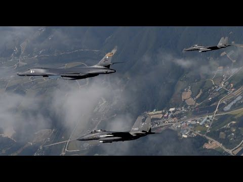 North Korea Accused U.S Deployed B-1B Lancer 5 Times Into Its Air Space