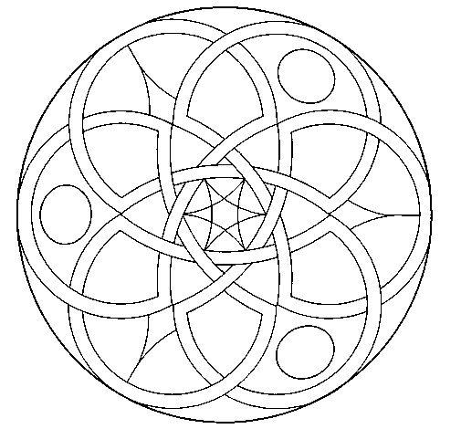 Dibujo de Mandala 11                                                       …