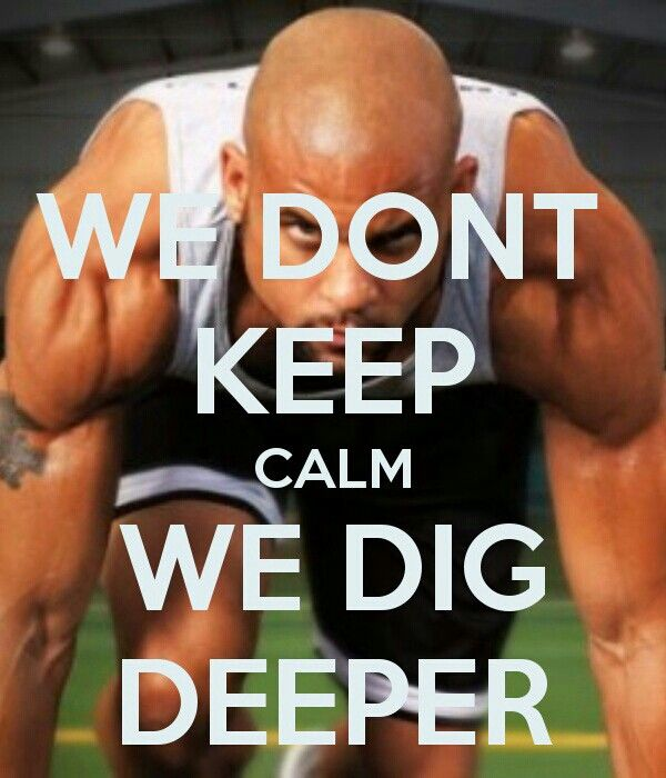We don't keep calm, we dig deeper - Insanity Workout #insanityworkout #fitness #insanity With optimal health often comes clarity of thought. Click now to visit my blog for your free fitness solutions!