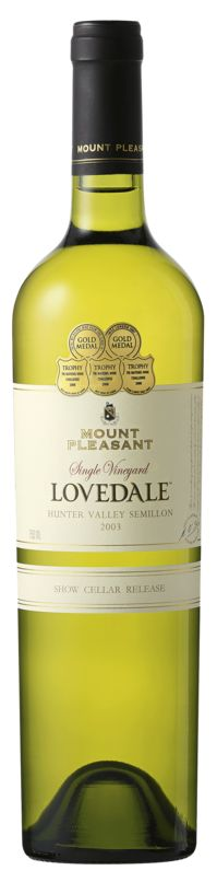 Mount Pleasant Lovedale Semillon 2003 - 12 years old and they sell it from the winery.  Too yummy to be true.