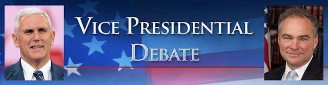 Free Zone Media Center News: VP DEBATE HERE TONIGHT, LIVE STREAM, WATCH FOR IT ...