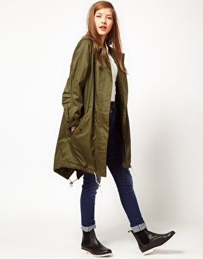 Fred Perry ParkaFall Style, Fashion Style, Green Parkas, Perry Parkas, Military Style, Perry Girls, Fashion Inspiration, Khakis Parkas, Fred Perry