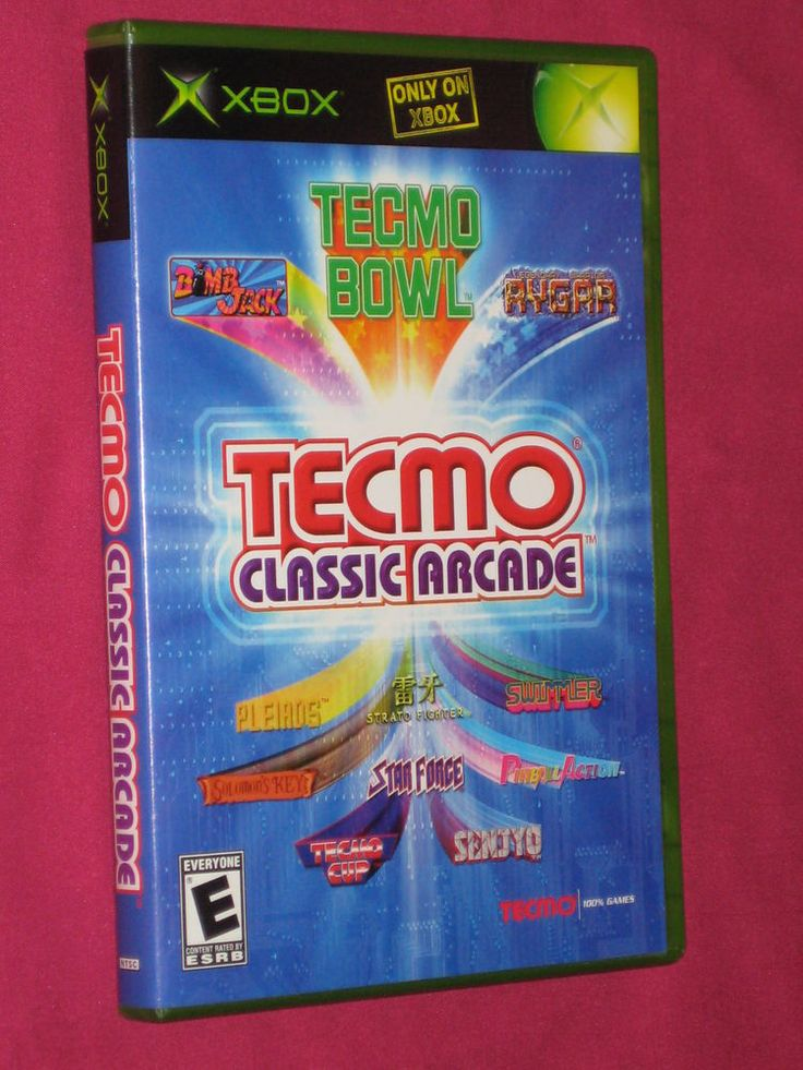 Tecmo Classics Arcade Xbox Original Game Complete, Rygar Solomons Key  | eBay