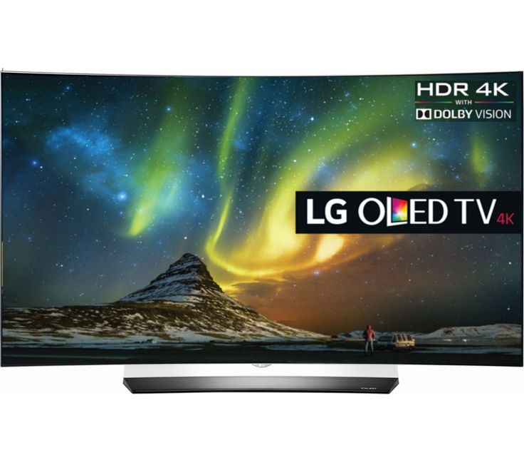 "LG  OLED65C6V Smart 3D 4k Ultra HD HDR 65"" Curved OLED TV Price: £ 3299.00 Top features: - Enjoy an immersive viewing experience with 4k Ultra HD resolution - OLED HDR enhances colours and contrast to create life-like images - Access a range of smart services including Netflix, Amazon Prime and catch-up TV - Immerse yourself in the audio with a sound system designed by Harman and Kardon..."