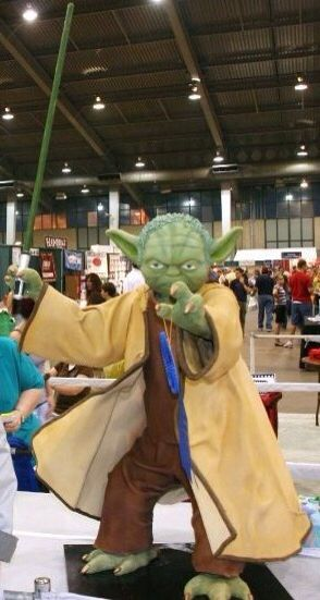 Life-Size Yoda Cake - Star Wars cake - For all your cake decorating supplies, please visit craftcompany.co.uk
