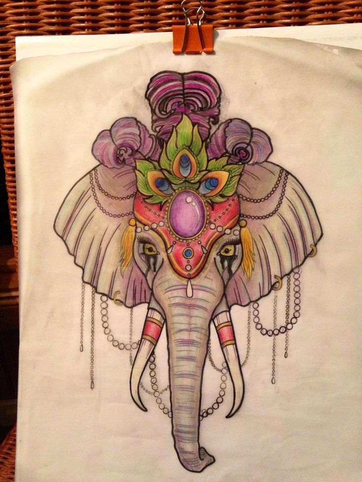Perfect inspiration for my elephant tattoo