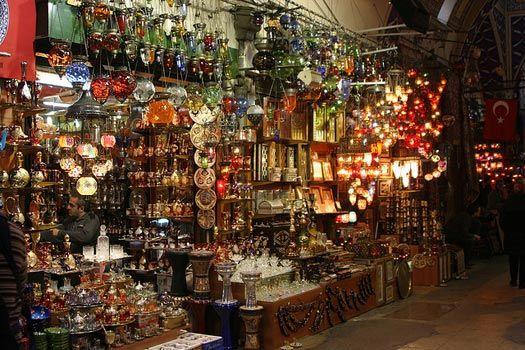 Grand Bazar (Kapalı Çarşı), Istanbul, Turkey