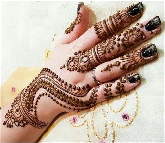 pakistani eid latest mehndi design