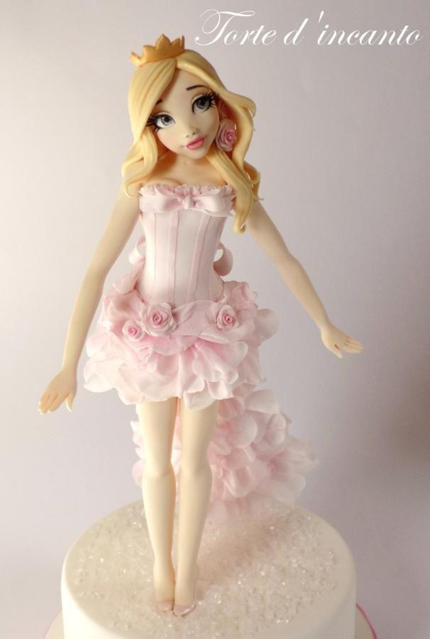 Princess Aurora - Cake by Torte d'incanto