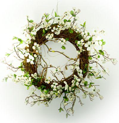 Топ 10: Весенние венки на двери