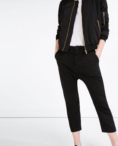 Cargo pants Zara