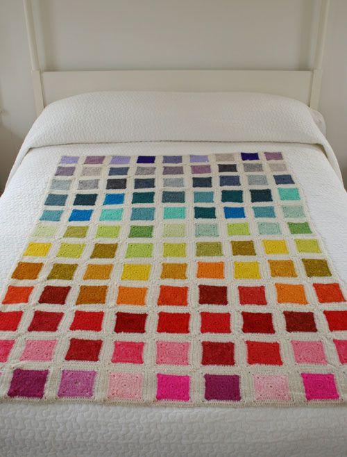 Beautiful squares of crochet!