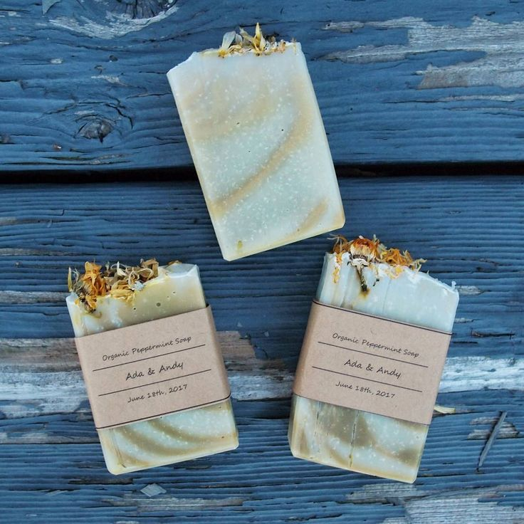 1.5 oz wedding favour soaps from Botany Barn Canada