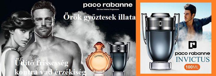 Paco Rabanne Invictus Intense férfi parfüm  Az örök győztes. Üdítő frissesség kontra vad érzékiség. Az illat alapját a sós-ámbrás akkord és a dinamikus fás jegyek adják. Először egy fűszeres-friss illatot érzünk: zöld-aromás babérlevél és narancsvirág, felhevítve a fekete bors és kardamom duóval, mint az intenzív frissesség utórezgéseként, mely rendkívül érzéki, majd a whisky akkord dominál. Az ámbra akkord a puha, fás meleget adja, ezzel szemben él a fekete ámbra és a fás jegyek ereje, a…