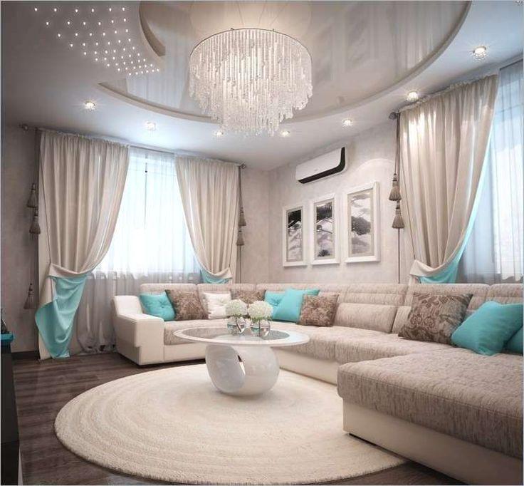 Wandgestaltung Turkis Grau Beige 80 Neu Wohnzimmer Braun ...