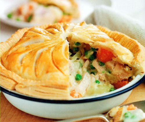 Chicken Pot Pie Recipe - http://www.allbakingrecipes.com/recipes/chicken-pot-pie-recipe/