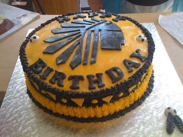 Kaizer Chiefs Birthday Cake