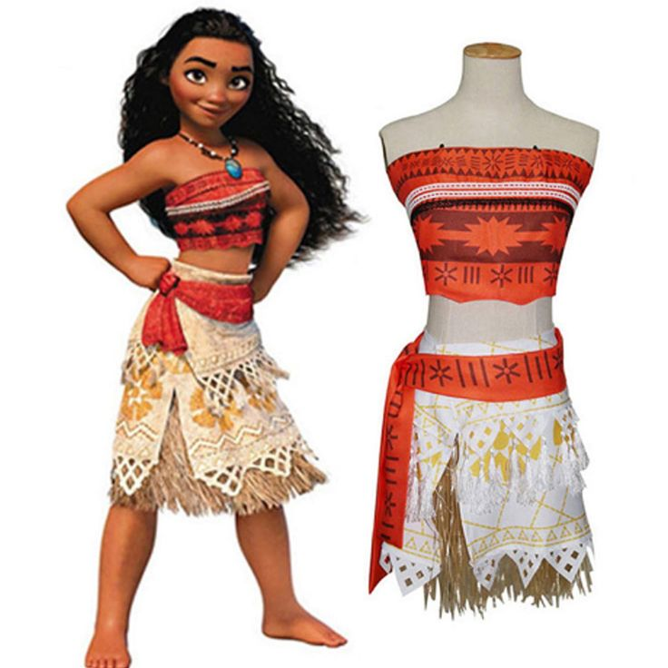 Kid and Adult Princess Moana Costume. Taxes and delivery included. Learn more at myscreenaddiction.com
