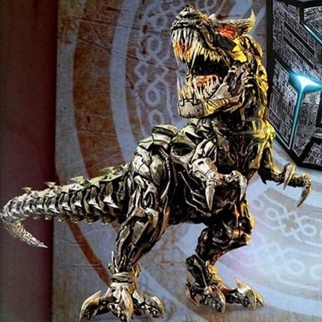 "Polubienia: 162, komentarze: 1 – Nick Leon (@transformers_contributions) na Instagramie: "" : @arun09345  Leader of the Dinobots  The mighty & fiery Grimlock!   #Transformers5…"""