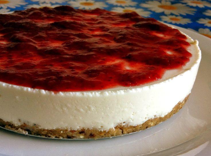 Pitadinha: Cheesecake levíssimo - sem forno                                                                                                                                                     Mais