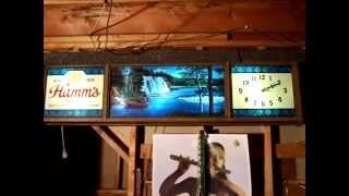 hamms beer sign - YouTube