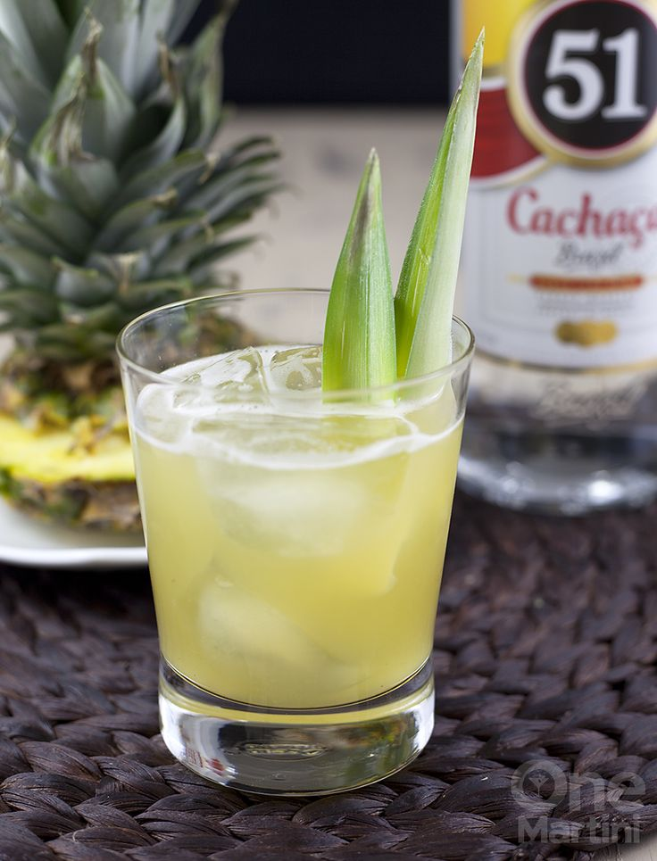 Hot House : a pineapple cachaca cocktail : onemartini.com