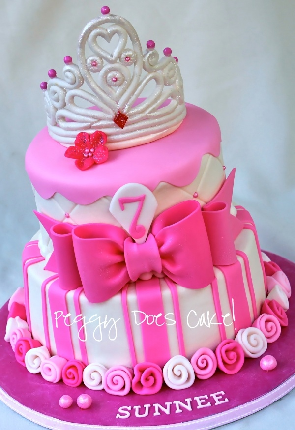 Pink Princess Cake...I'm sure any little girl would love this cake!