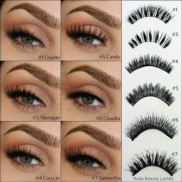 how to make false eyelashes look real