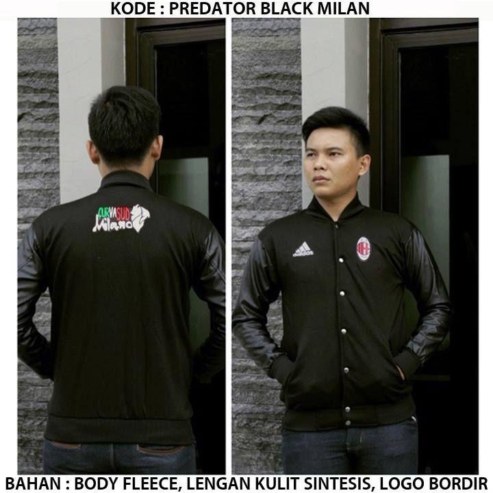 Jaket Predator AC Milan  http://www.berkahmurah.com/2015/12/jaket-predator-ac-milan-black.html  #jaket #jaketbola #jaketmurah #jaketacmilan #acmilan