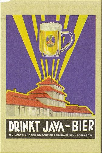 Tempo Doeloe - Proost! / Cheers!.Old Indonesian ad, colonial