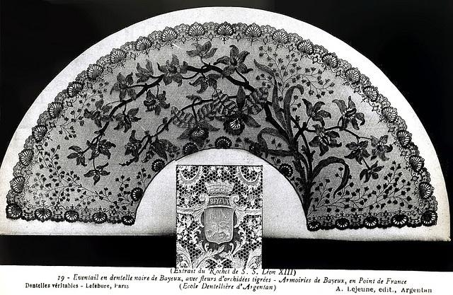 75 best images about bobbin lace fans on pinterest lace labor and patrones - Point p bayeux ...