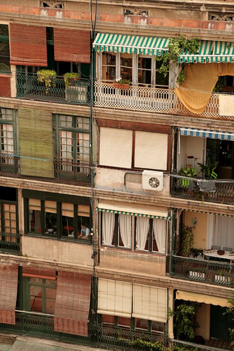 Balconies and windows Barcelona