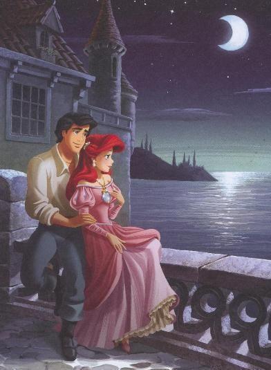 Ariel and Eric - Little Mermaid