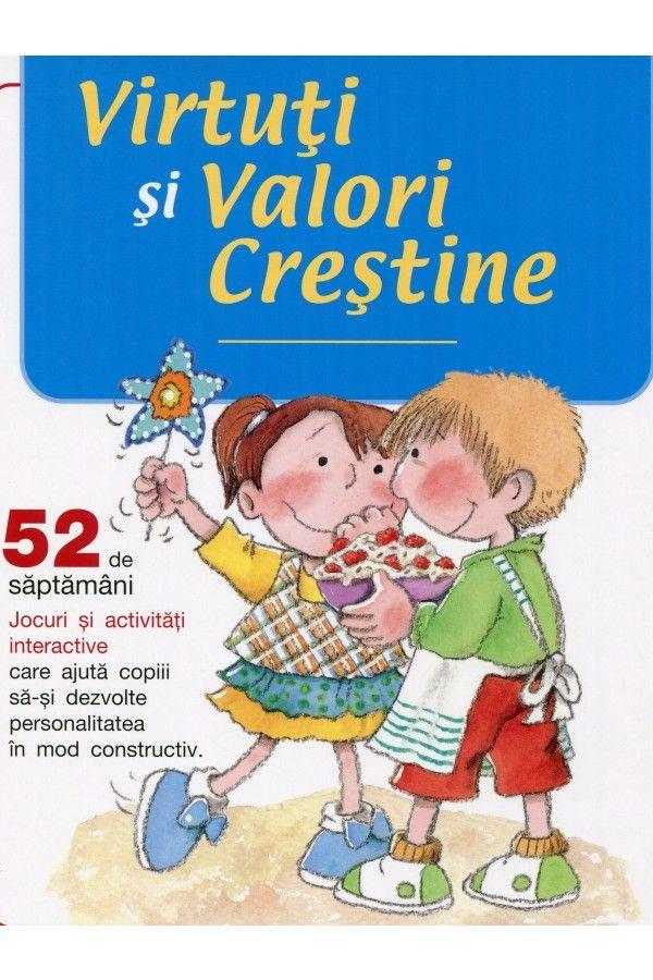 Virtuti si Valori crestine - Jocuri si activitati pentru copii | Carti crestine pentru copii _ en romanès