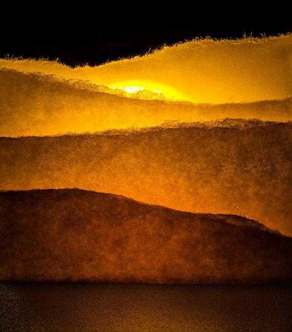 Paper Sunrise by PhotographyOne on Etsy, $25.00
