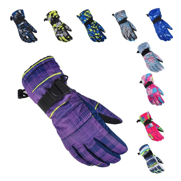 New Mens Ski gloves Thermal Snowboard Gloves Motorcycle Riding Gloves Windproof Waterproof  Women Children Snowmobiles gloves
