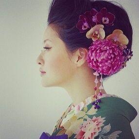 kimono hair